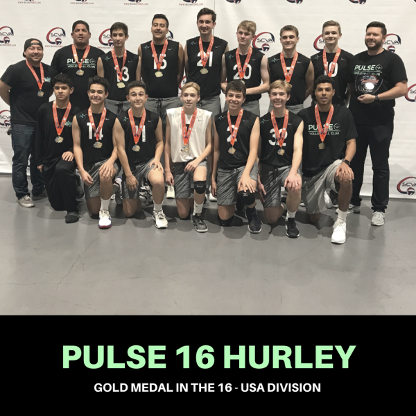 16 HURLEY BRINGS HOME GOLD